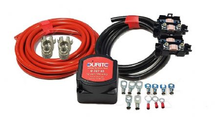 Durite split relay 140amp kit